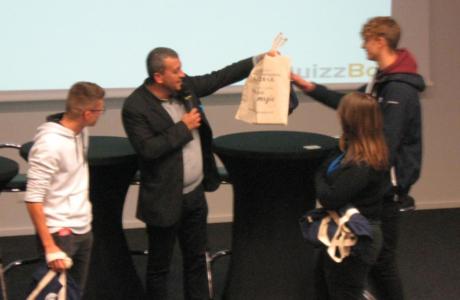 «Assure ton avenir » : Hugo Mourey remporte le jeu-concours